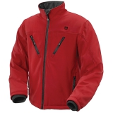 Thermo Jacket red, size L, UK women 16-18, UK men 40-42